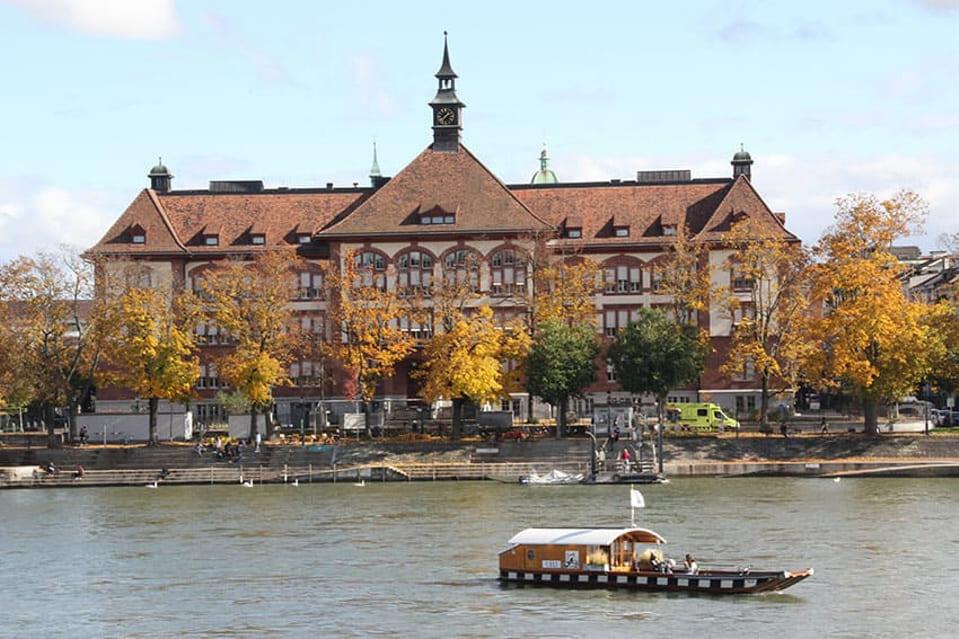 Schule Theobald Baerwart am Rhein in Basel